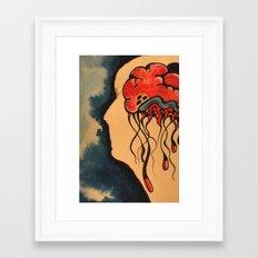 Jelly Brain Framed Art Print