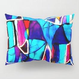 Blue Love Pillow Sham