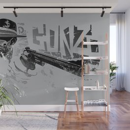 Dr Gonzo Wall Mural