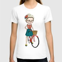 hipster T-shirts featuring Hipster by Maripili