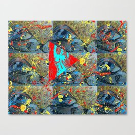 Abstracted Sex. Canvas Print