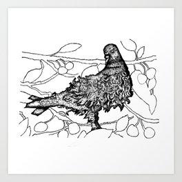 """Inks of nature 3"" Art Print"