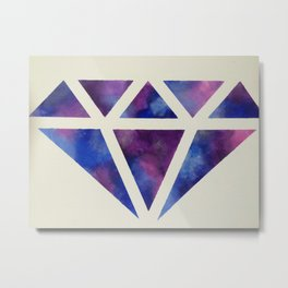 Galaxy Diamond Metal Print