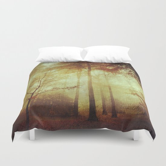 Fall Meditations Duvet Cover