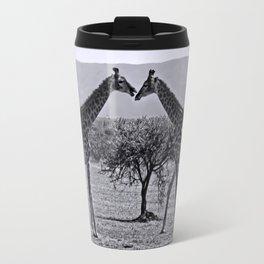 Giraffe talk Travel Mug