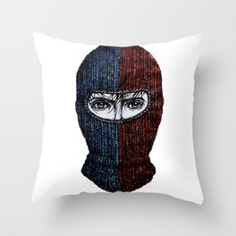 Balaclava  Throw Pillow