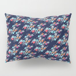 Happy Gypsy, Floral Pattern Pillow Sham