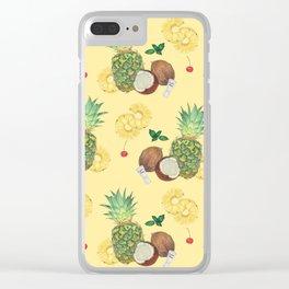pina colada Clear iPhone Case