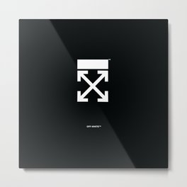 OFF-WHITE Metal Print
