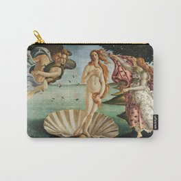 The Birth of Venus by Sandro Botticelli, 1445 Carry-All Pouch