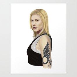 Starbuck Art Print