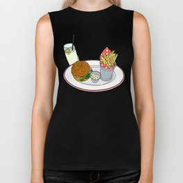 Burger, Chips and Lemonade Biker Tank