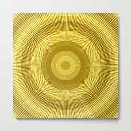 Golden brown Metal Print