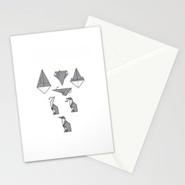 Origami Penguin Stationery Cards