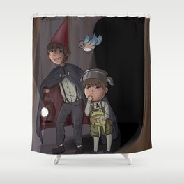 Over The Garden Wall Shower Curtain