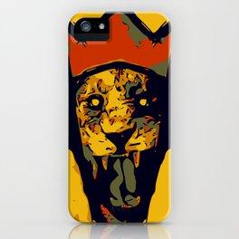 King Lion R E M I X iPhone Case