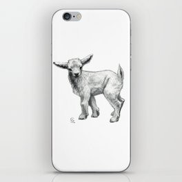 Little Goat Baby  SK134 iPhone Skin