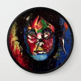JOHN ORIGINAL POP COLOR PORTRAIT Wall Clock