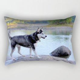 Siberian Husky Max Rectangular Pillow