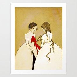 Doppleganger Art Print