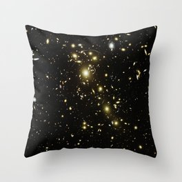 Distant galaxies, Abell 1703. Throw Pillow