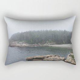 Acadia Maine Beach Rectangular Pillow