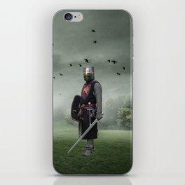 Cowardly Steed iPhone Skin