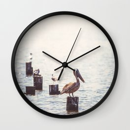 Gulf Coast Peace Wall Clock