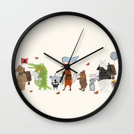 lets all go exploring Wall Clock