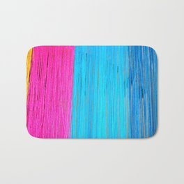 Color Strings Bath Mat