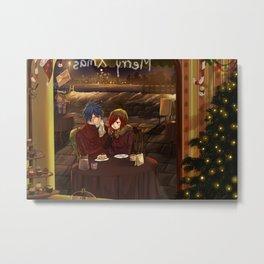 Christmas date - Jerza Metal Print