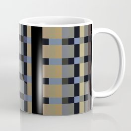 PRECISION warm shades of grey taupe steel blue Coffee Mug
