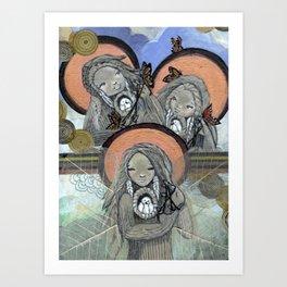 Return of the Medicine Women Art Print