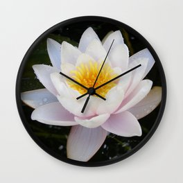 White Enlightenment 1 Wall Clock