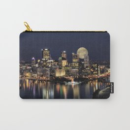Moon Rise Over Pittsburgh Carry-All Pouch