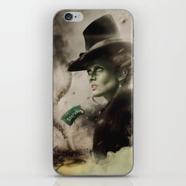 Movie Poster Set - The Wicked Witch iPhone Skin