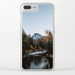 Half Dome from Sentinel Bridge Clear iPhone Case