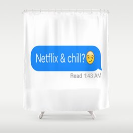 *NEW* Flix & Chill Shower Curtain