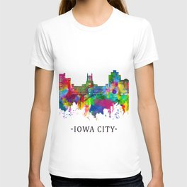 Iowa City Iowa Skyline T-shirt