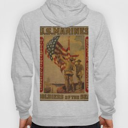 Vintage poster - Soldiers of the Sea Hoody