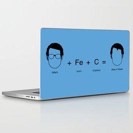 Man of Steel Equation Laptop & iPad Skin