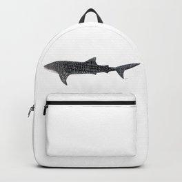 Whale shark Rhincodon typus Backpack