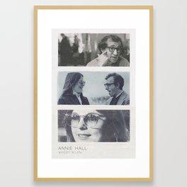 Annie Hall Framed Art Print