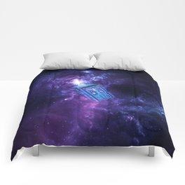 Tardis Nebula Comforters