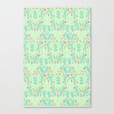 Tiny Flora Canvas Print