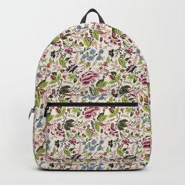 floral art collage Backpack