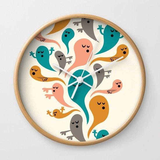 Dead Man's Party Wall Clock