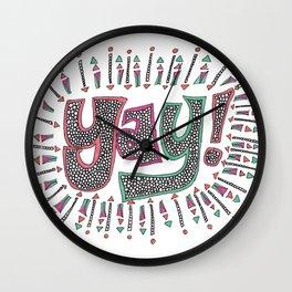 Yay! Wall Clock