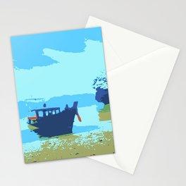 Boat on Phang Nga Bay Phuket Thailand Stationery Cards