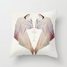 cat lovers Throw Pillow